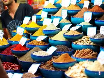 Zdjęcia z Iranu - bazar w Sziraz