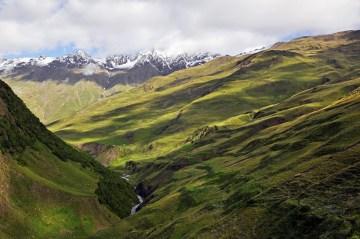 Piekno Kaukazu - zdjęcia z Tuszetii