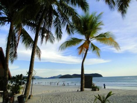 Plaża Pantai Cenang w Malezji