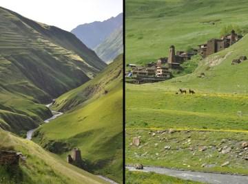 Zdjęcia z podróży do Tuszetii