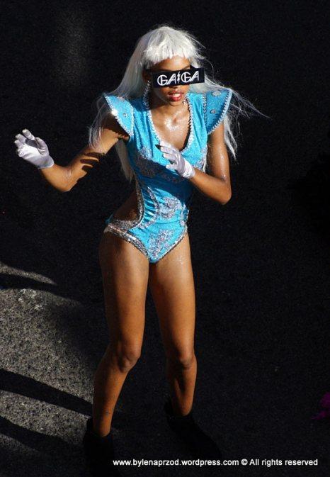 Lady Gaga na Wyspach Zielonego Przylądka - zdjęcia z karnawału