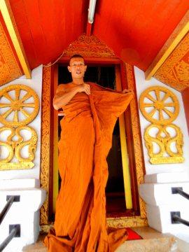 Mnich buddyjski z Tajlandii