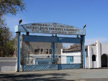 Opuszczona fabryka konserw rybnych w Mujnaku - relacja z podróży do Uzbekistanu