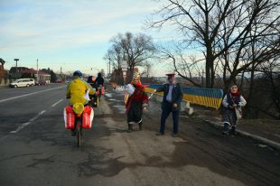 Rowerowe Jamboree na Ukrainie. (Fot. Piotr Wojtaszek)