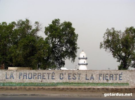 Pałac prezydencki w stolicy Dżibuti