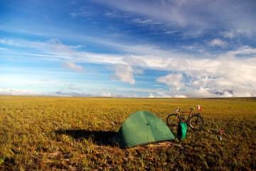 W Wenezueli można spać na dziko w namiocie