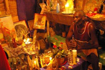 Obrzęd wudu na Dominikanie