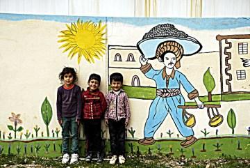 Kurdyjskie dzieciaki - foto