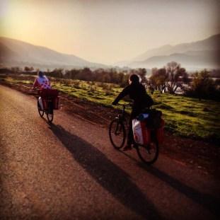 Podróż rowerem przez Irak
