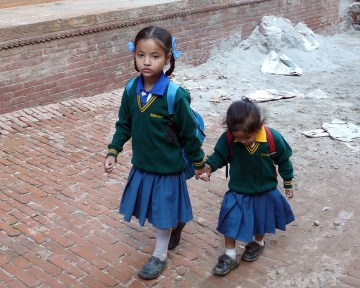 Dzieci z Nepalu - Fot. Joanna Lora