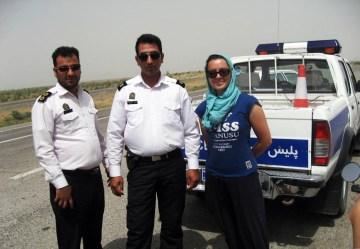 Polska turystka i irańska policja