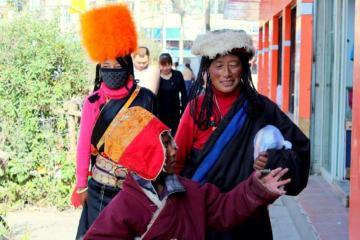 Kobiety z Litangu w Tybecie