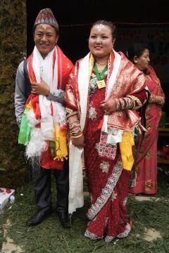 Wesele w Nepalu