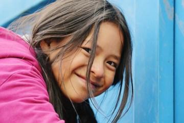 Młoda dziewczyna z Peru