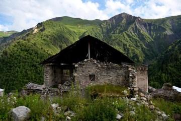 Opuszczony dom w Gruzji