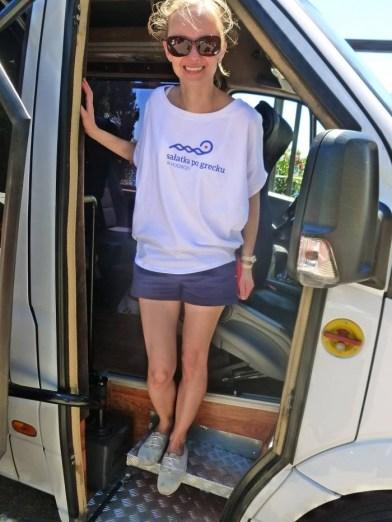 Dorota Kamińska, autorka bloga Sałatka po grecku.