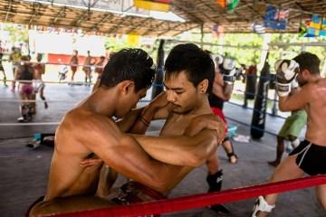 Muai Thai - trening