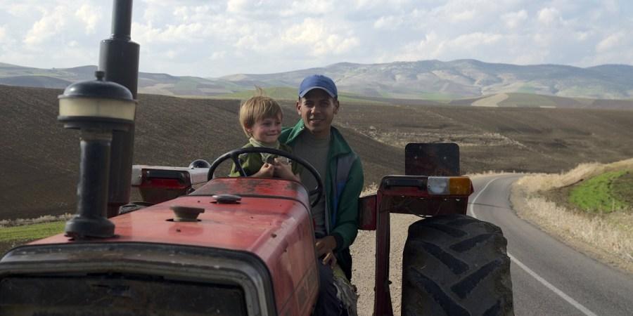 Autostop w Maroku