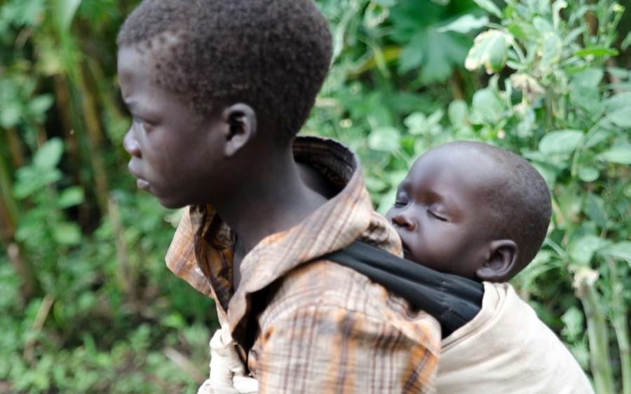 W górach Sudanu Południowego