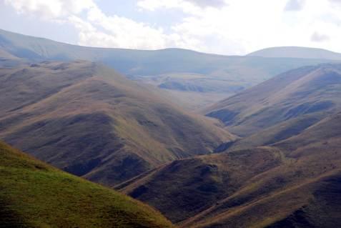 Góry Kaukazu w Czeczeni
