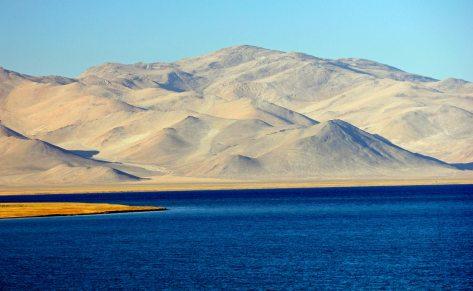 Podróż przez Tadżykistan, nad jeziorem Karakul