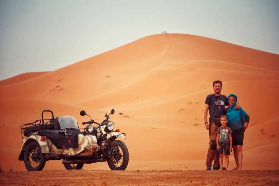 Maroko, podróż motocyklem, Fot. Mihai Barbu