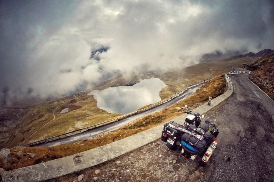 Motocyklem dookoła Europy - Mihai Barbu