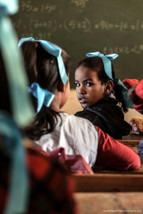 Sahara Zachodnia, szkoła, Fot. Bartek Sabela