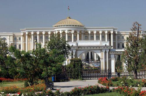 Pałac prezydenta Tadżykisyanu - zdjęcia z podróży