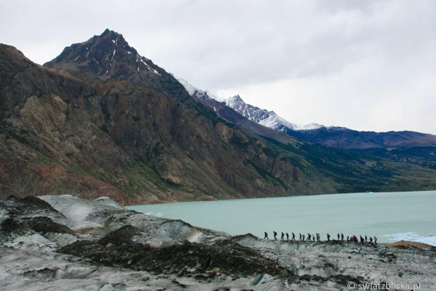Trekking po argentyńskim lodowcu