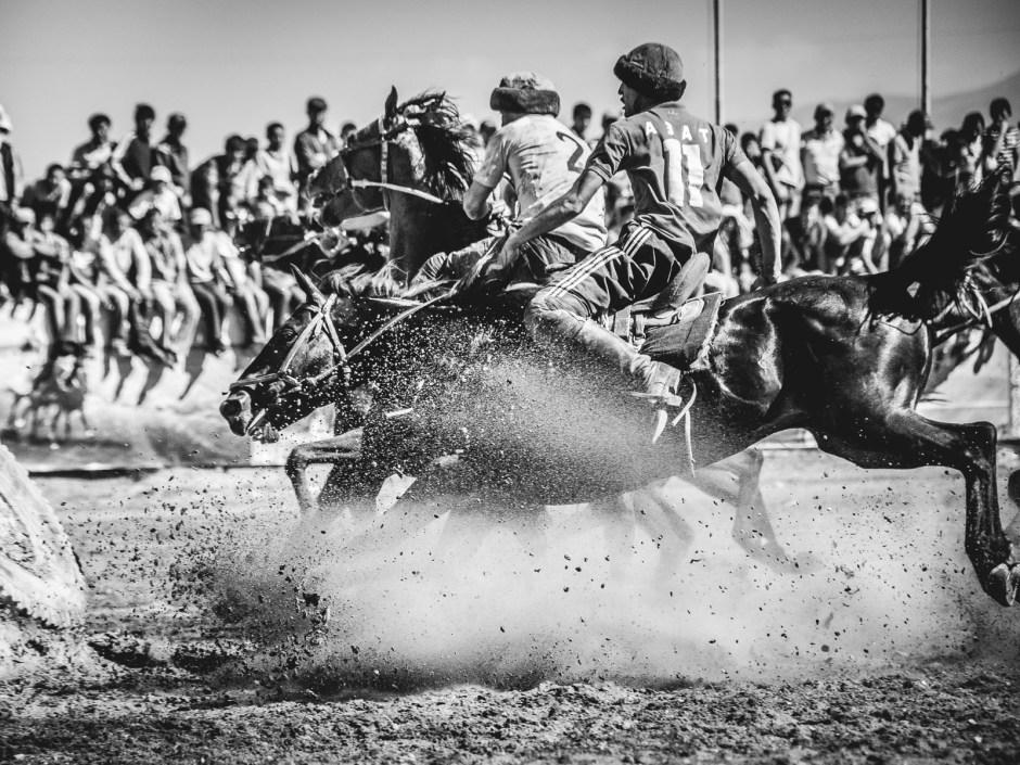 Gra w buzkaszi, Azja Centralna, Foto - Jakub Rybicki