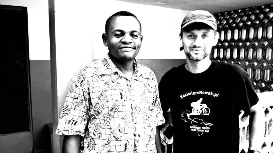 Kongo, podróżnik Dominik Szmajda