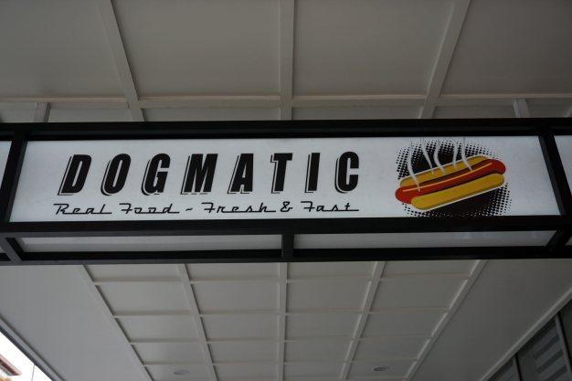 Nowa Zelandia - reklama hot dogów