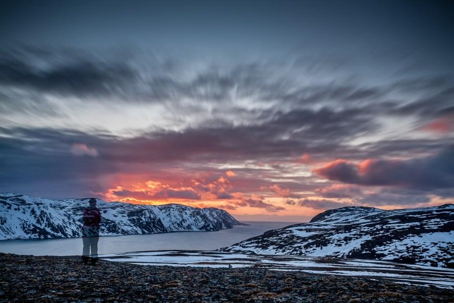 Na nartach na Nordkapp - foto