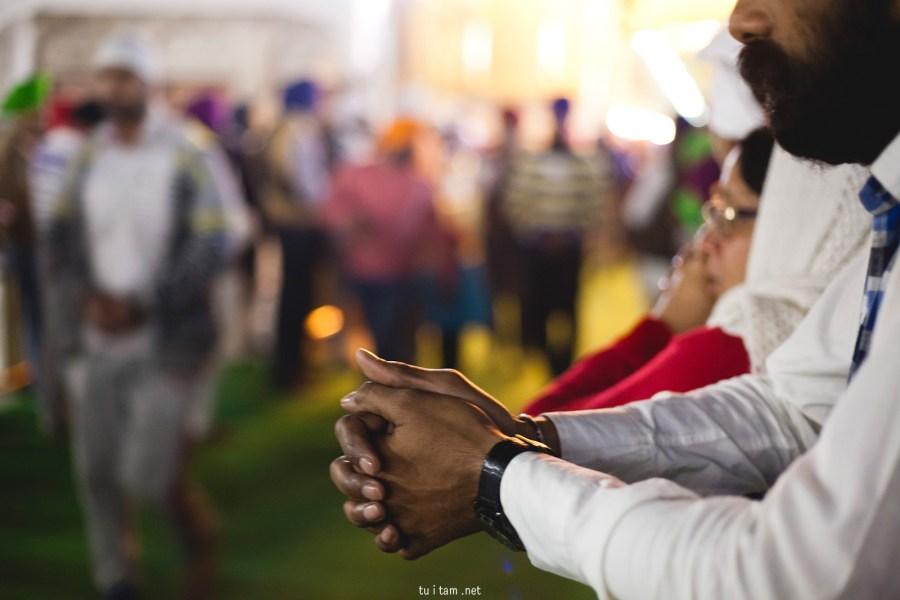 Święta księga sikhizmu w Amritsarze - foto