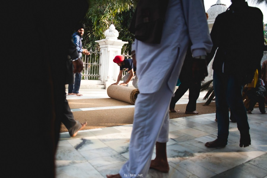 Zdjęcia z podróży przez Indie - w Złotej Świątyni