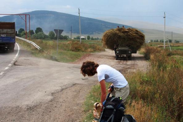 Gruzja autostopem. Podróż w góry