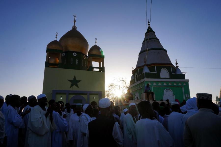 Sudan, Meczet Hamad al-Nil w Omdurmanie