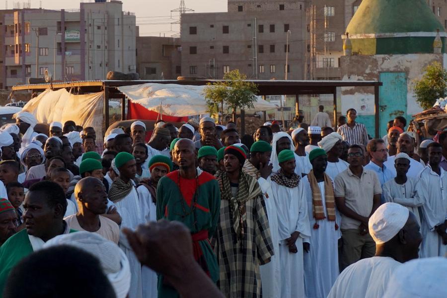 Zikr - modlitwa sufitów w Sudanie