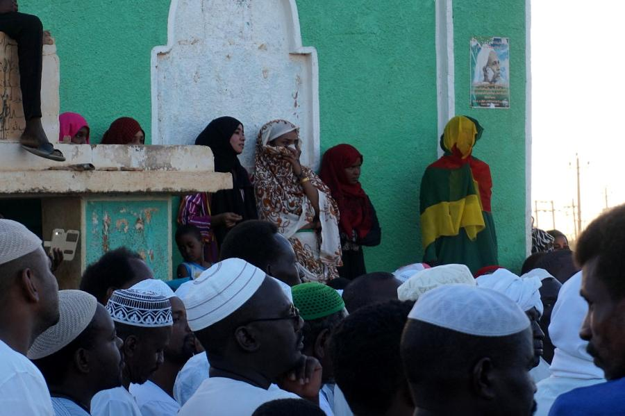 Sufizm, kobiety podczas obrzędu zikr w Omdurmanie