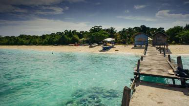 Plaża na Borneo, zdjęcia z Malezji