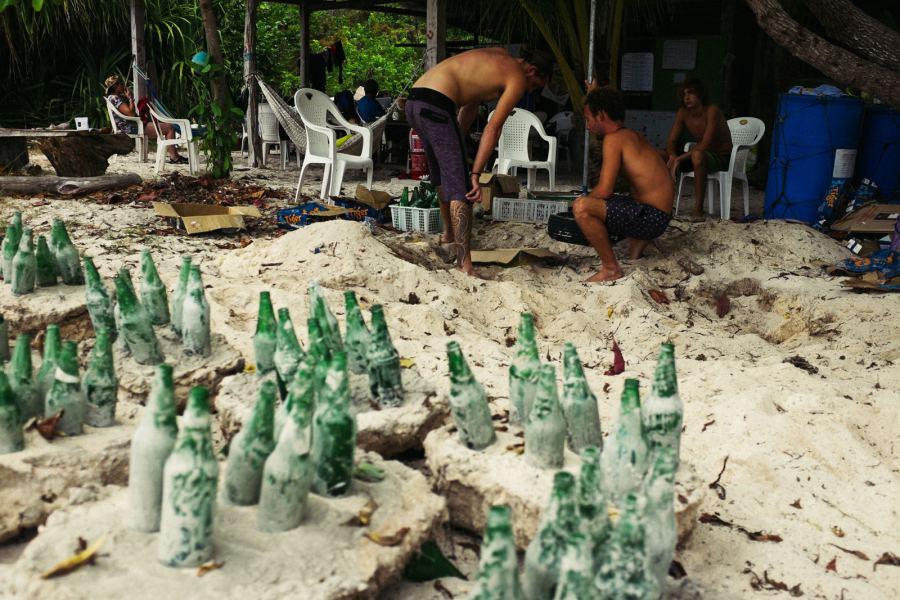 TRACC na Borneo ratuje rafę koralową