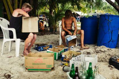 Odbudowa rafy koralowej na Borneo, Malezja