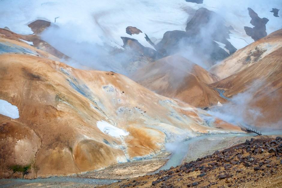 Kerlingarfjoll - zdjęcia z podróży przez Islandię