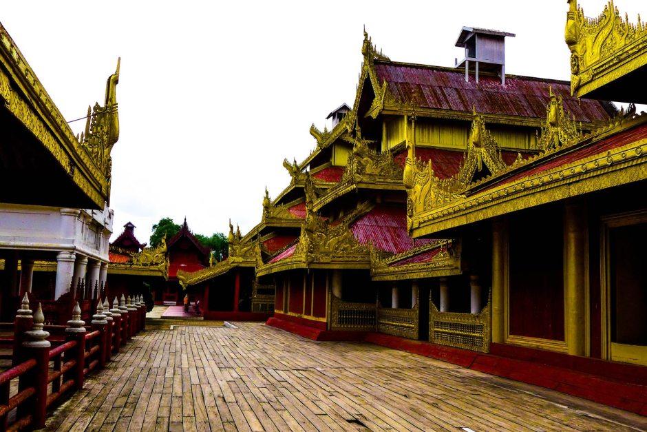 Pałab Mindona w Mandalaj w Birmie