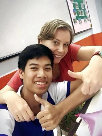 Nauczycielka w Tajlandii