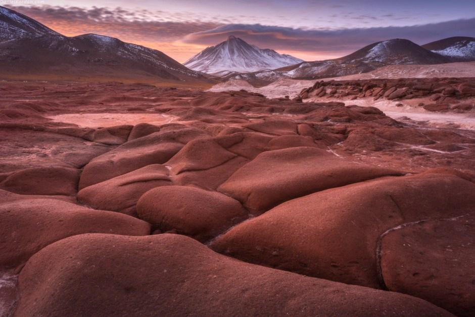 Plaskowyz Altiplano w Boliwii, zdjecia nocne