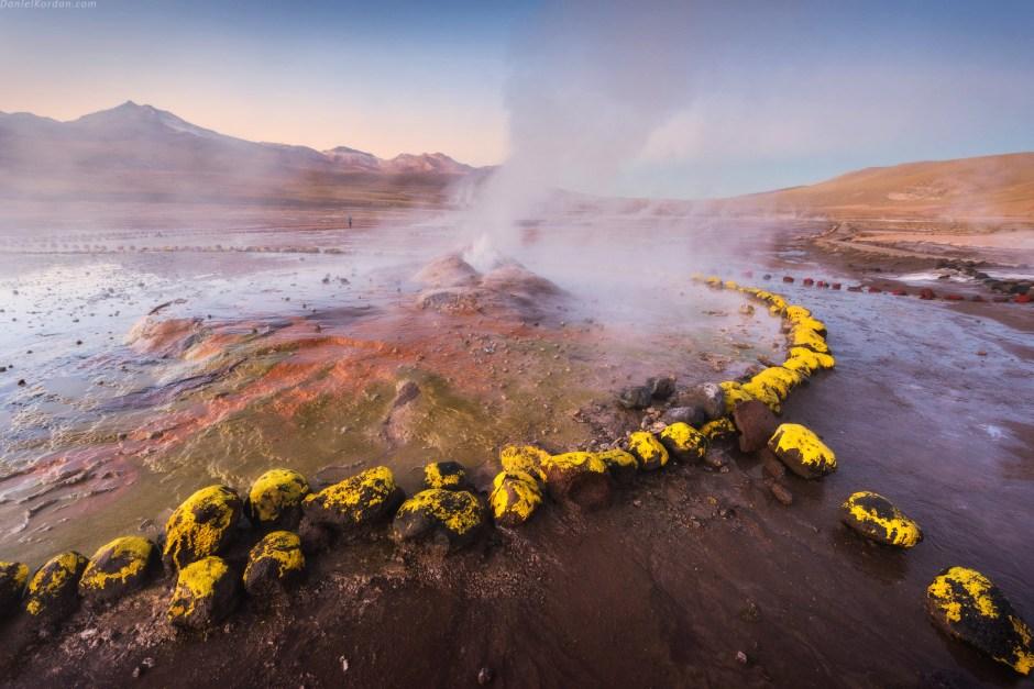 Salar de Uyuni, gejzer, Boliwia, gorace zrodla