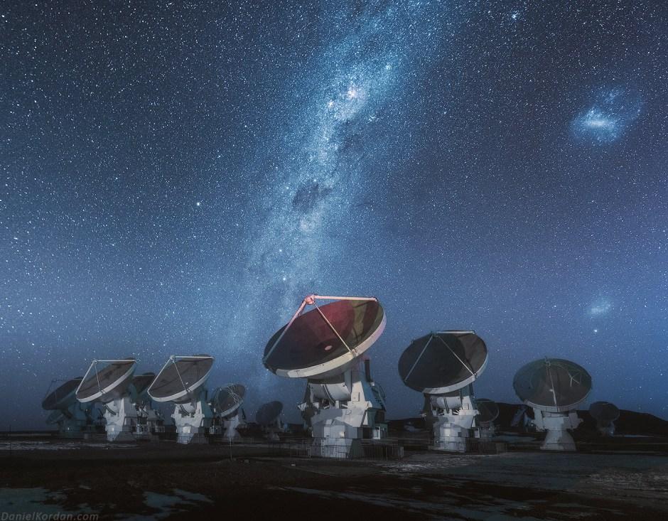 Boliwia, stacaj radarowa na Salar de Uyuni