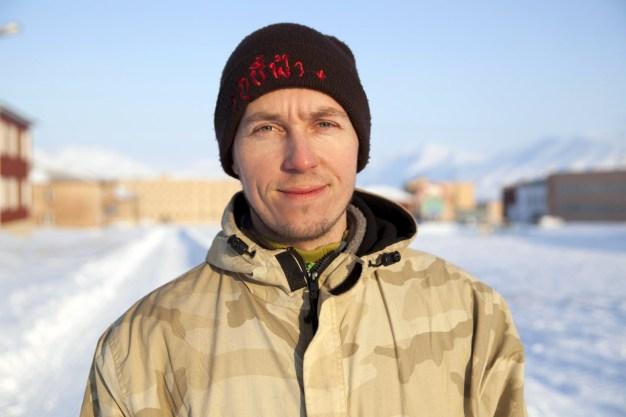 Piramida, Spitsbergen. Przewodnik Wołodia - zdjęcia Ilony Wiśniewskiej ze Spitsbergenu